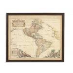 Antique Map of America II