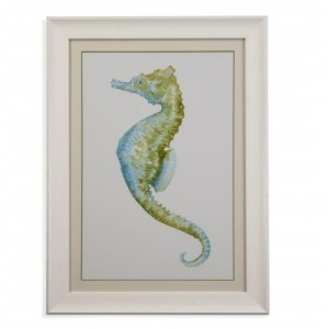 Watercolor Seahorse II