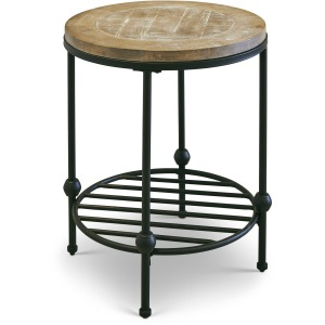 Emery II Round End Table