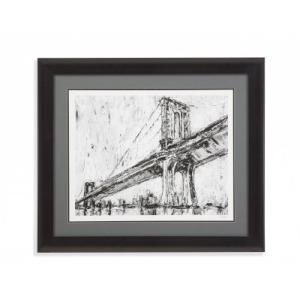 Iconic Suspension Bridge I