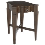 Main Street Chairside Wedge Table