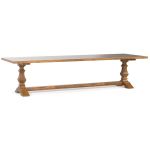 "Bench Made Maple 126"" Rectangular Table"