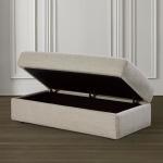 Allure Storage Ottoman $749