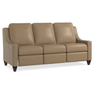 Magnificent Motion Reclining Leather Sofa
