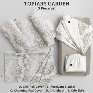 Baby & Kids Top of Bed Topiary Garden 5 pc set