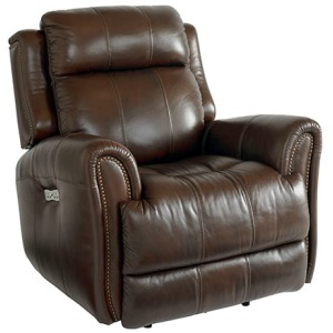 Marquee Leather Power Wall Recliner