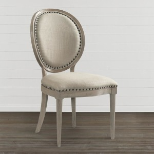 Artisanal Oval Back Side Chair