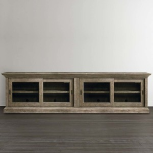 Compass Double Sliding Door Credenza