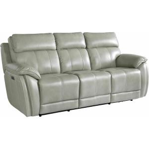 Levitate Motion Sofa w/Power - Nickle