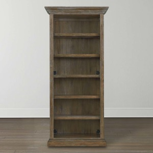 Compass Tall Single Open Bookcase