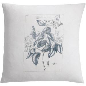 Botanique Floral Blue Pillow