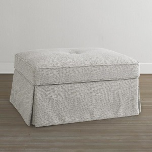 Custom Rectangle Ottoman