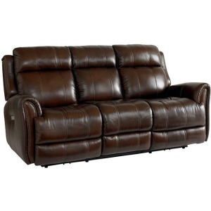 Marquee Motion Sofa w/Power - Umber