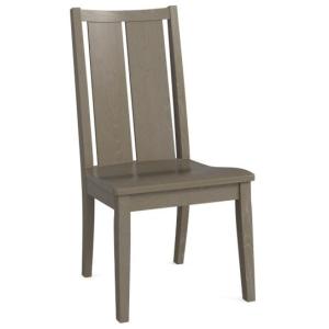 Bench*Made Oak Side Chair - Erin Nubuck Oak