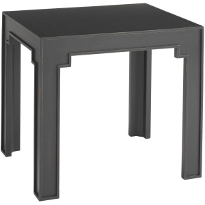Bluffton End Table - Lampblack