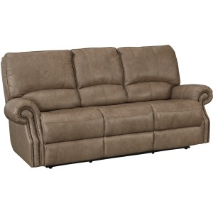 Prescott Power Reclining Sofa - Wheat