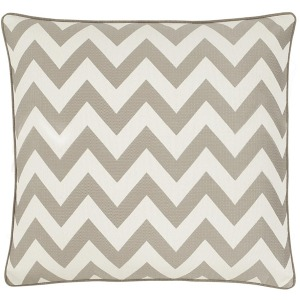 Bed Sol Pewter Chevron Euro