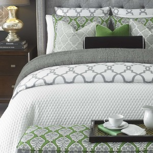 Diamond White Quilt