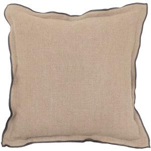 Eden Natural-Charcoal Pillow