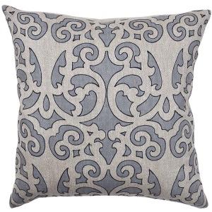 Ferah Slate Blue Pillow