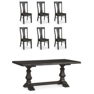 Bench*Made Maple 7 PC Dining Set