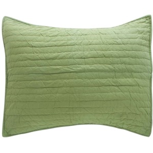 Basecamp Apple Green Sham