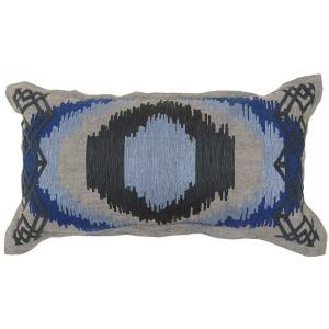 Davinia Dk Blue Multi Pillow