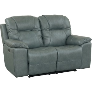 Chandler Motion Loveseat - Blue Gray