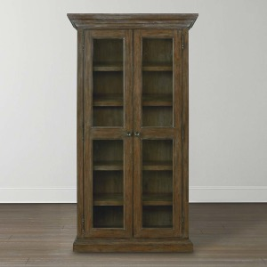 Compass Tall Single Display Cabinet