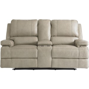 Parker Power Reclining Loveseat - Flax