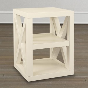 AXIS DARK CHERRY END TABLE
