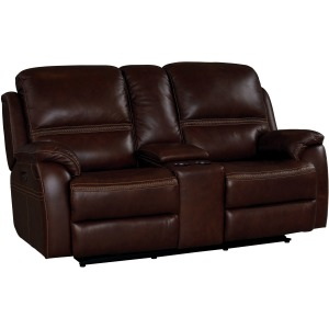 Williams Motion Loveseat w/Power & Console - Kobe