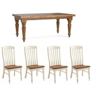 Bench*Made 5 PC Dining Set