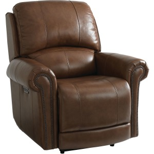 Olsen Power Recliner - Umber