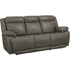 EVO PEWTER POWER RECLINING SOFA