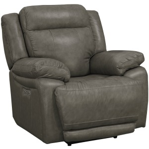 EVO PEWTER POWER RECLINER