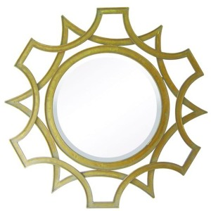 Abberley Malden Gold Mirror