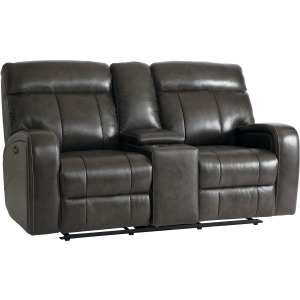 Beaumont Motion Loveseat w/Power - Truffle