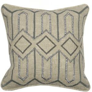 Etta Grey Pillow