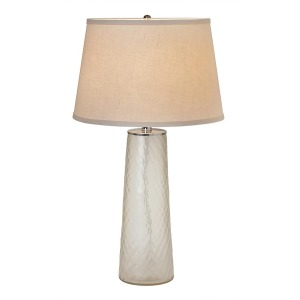 Cloud Taupe Pillar Table Lamp