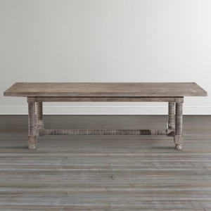 """Compass104"""" Trestle Dining Table"""