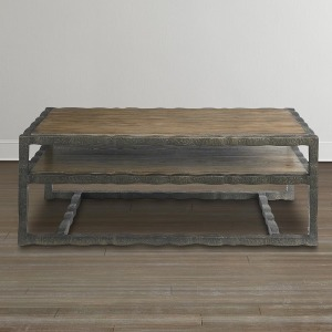 Compass Rectangular Cocktail Table