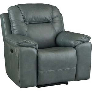 Chandler Wallsaver Recliner w/Power - Blue Gray
