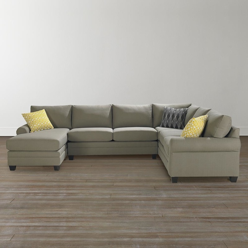 Super Cu 2 U Shaped Sectional By Bassett 3851 Usect Pierce Pdpeps Interior Chair Design Pdpepsorg