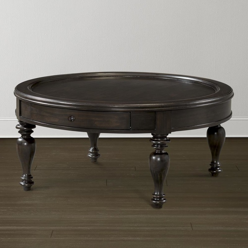 Heartland Pine Round Cocktail Table