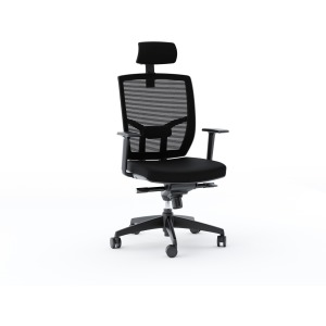 Task Fabric Chair - Black