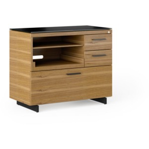 Sequel 20 Multifunction Cabinet - Natural Walnut / Black