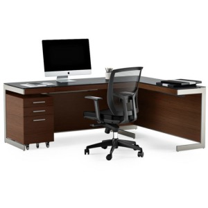 Sequel Desk Package W/ Filing Cabinet