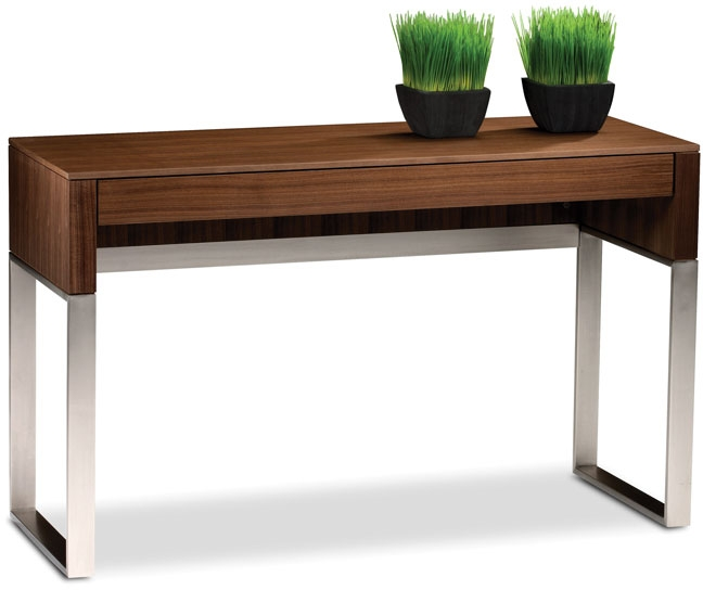 Cascadia Console/Laptop Desk by BDI | Oskar Huber ... on Cascadia Outdoor Living Spaces id=31668