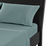 Dri-Tec-Performance Sheets Blue Dri-Tec Sheet Set in Aqua Blue in Split Cal King